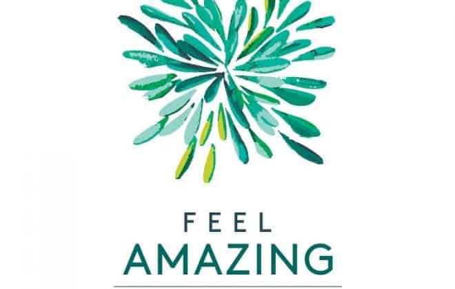feel amazing starburst logo