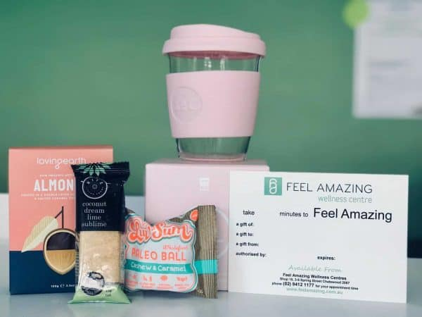 Gift Pack - Pink cup - Gift Voucher